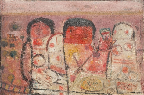 Fateh Moudarres The Last Supper 1964