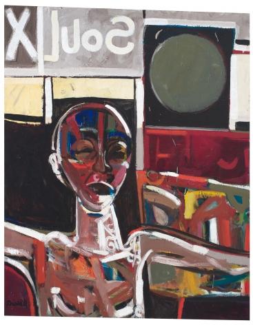 Soul X, 1968, Oil on linen