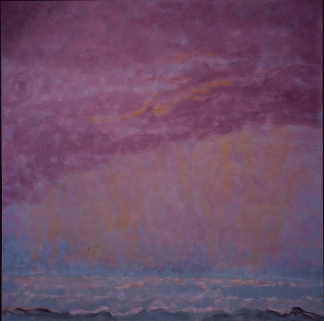 Tempest, 1993 Oil on linen