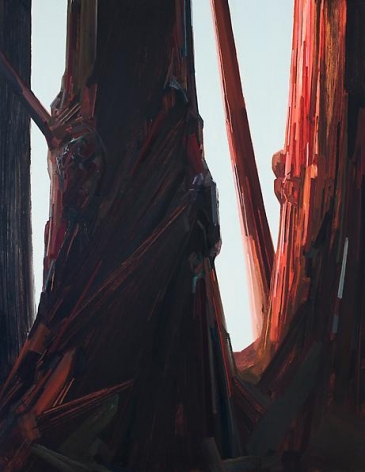Tree, 2014 Oil on canvas, 108 x 84 inches