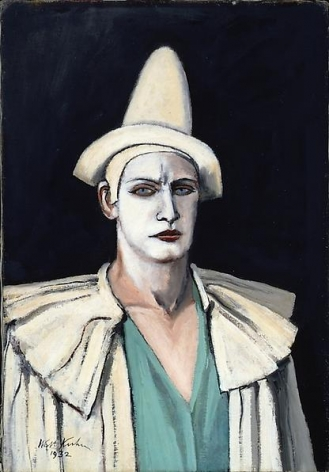 Portrait of the Artist as a Clown (Kansas), 1932