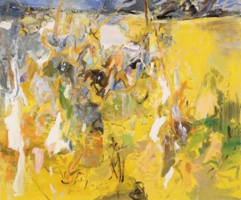 Figures in a Landscape, 2015. Oil on linen, 50 x 60 in.