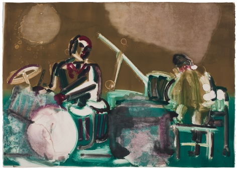Romare Bearden Untitled (Jazz), c.1970s