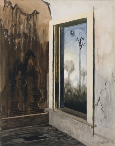 Window in a Deserted House, 1917
