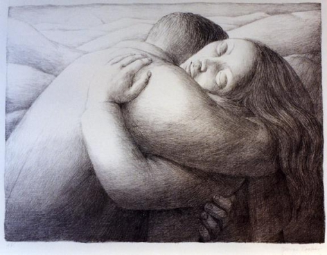 Lovers, 1982 Lithograph