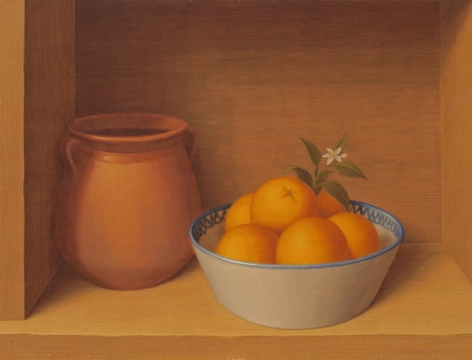 Still Life with Oranges, 1979
