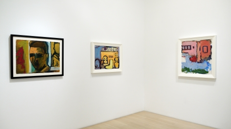 Robert De Niro, Sr.: Intensity in Paint: Installation of Six Works
