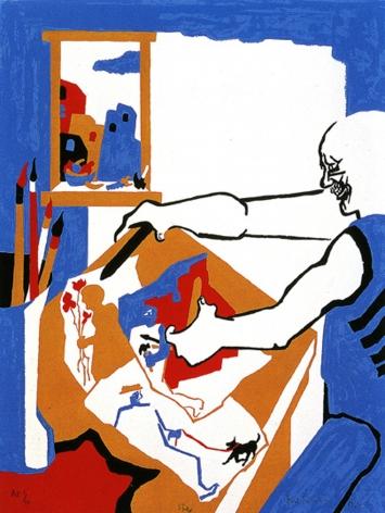 Artist in Studio, 1994