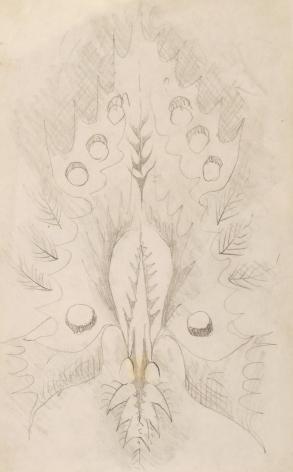 Doodle 4, n.d., Pencil on paper