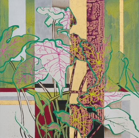 Robert Kushner, Lady Caladium, 2016