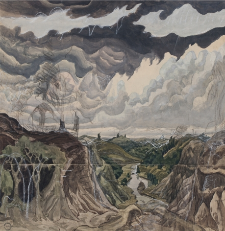 Charles Burchfield Jaws of the World, 1920