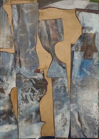 Romare Bearden, Untitled (Browns), c. 1962