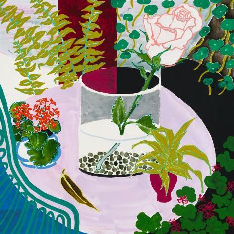 Robert Kushner Pink Table, 2020