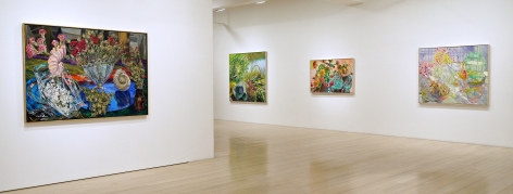 Installation view of Janet Fish: Panoply, 2014