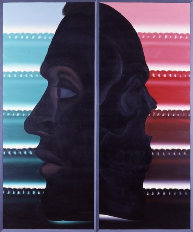 Illusion, 1985 Oil on canvas, 72 x 60 inches