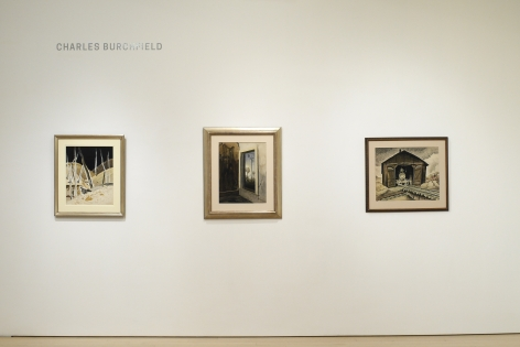 Charles Burchfield: Solitude