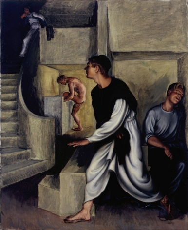 Monk's Dream, 1932, Oil on canvas