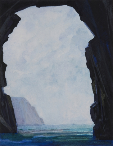 Sea Cave, 2016, Mixed media and paper