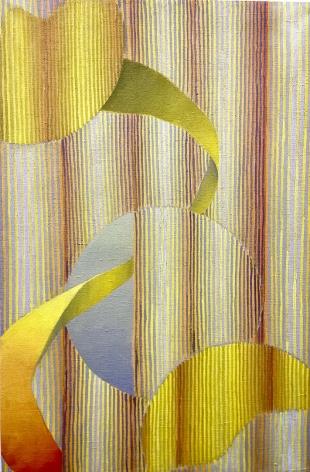 Weaving Rays,2019 Oil on linen
