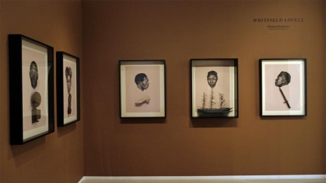 Whitfield Lovell: Distant Relations, Selections from the Kin Series