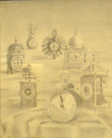 Walter Murch, Clocks, 1949