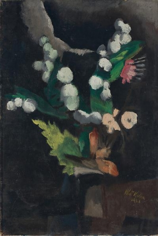 Pom-Poms, 1921 Oil on canvas, 24 x 16 inches