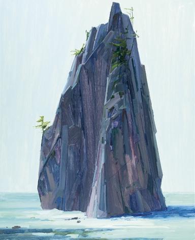Island, 2016, Oil on canvas