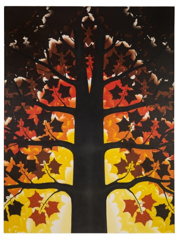Roger Brown American Sycamore, 1982