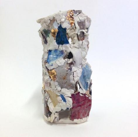 Robin Cameron. Vayyyyyyyyyyse, 2015. Ceramic, 11 x 5 x 5 in.