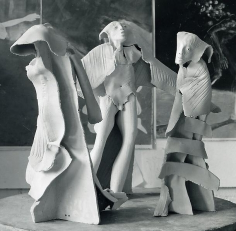 Mary Frank: Elemental Expression: Sculpture 1969-1985 & Recent Work