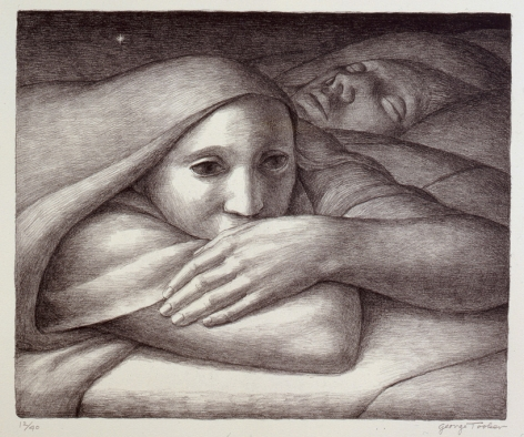 Night, 1998 Lithograph