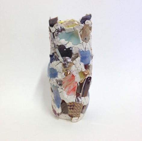 Robin Cameron. Vayyyyyyyyyse, 2015. Ceramic, 12 x 5 x 5 in.
