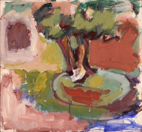 Summer Landscape with Tree, c. 1971