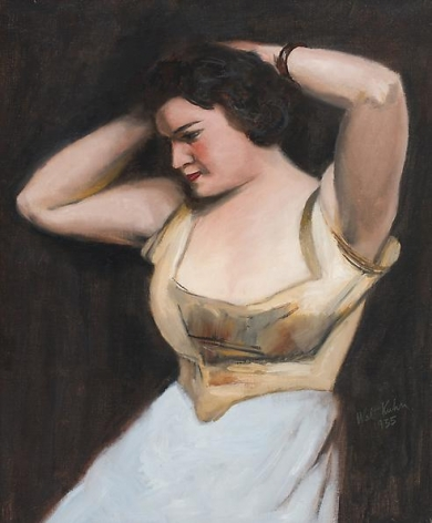 Woman with Bracelet (Between the Acts), 1935