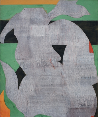 Romare Bearden Untitled (Green), n.d.