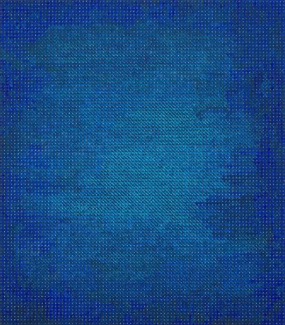 Gazing at the Blue Haze, 2017-2018, Acrylic on wood
