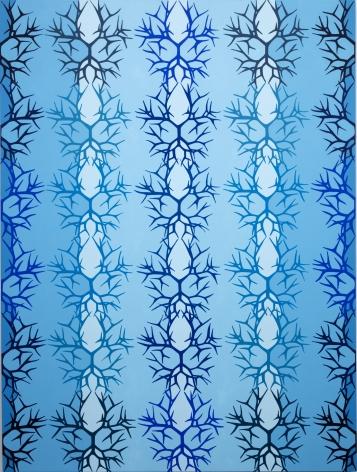 Story of Blue, 2017, Acrylic on panel
