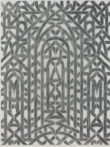Leflore, 1981 Pencil on tracing paper