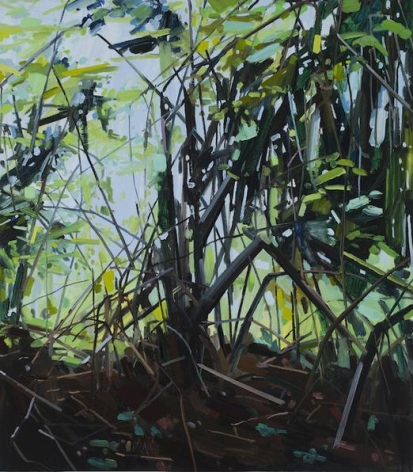 Underbrush, 2015 Oil on canvas