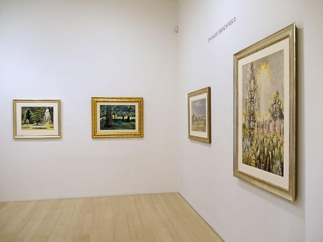 Charles Burchfield: Landscapes 1916-1962