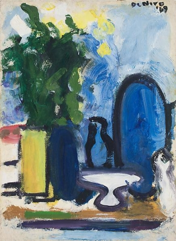 Still Life with Flowers, Vase, and Tazza, 1969