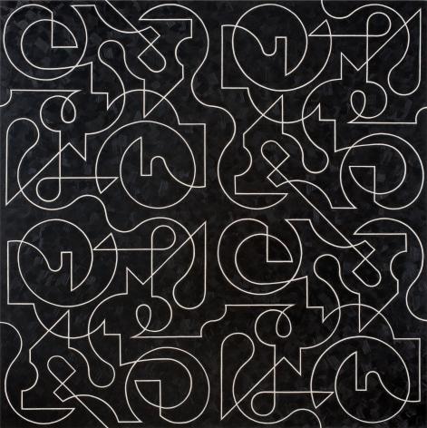 Quadrille, 2017 Oil on canvas