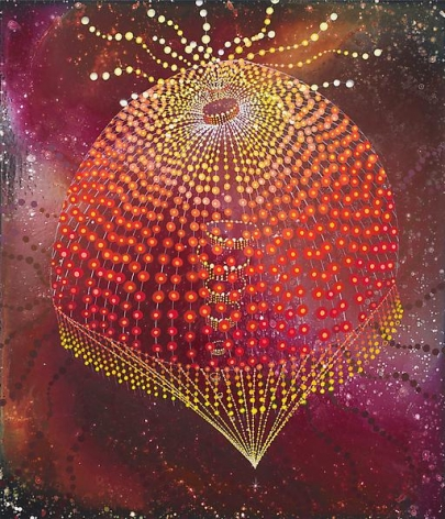Barbara Takenaga, Red Thing, 2013.