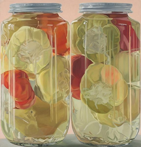 Stuffed Peppers, 1970. Oil on canvas, 59 x 57 in.