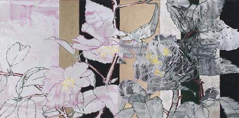 Robert Kushner, Pink Camellias, Dawn, 2012