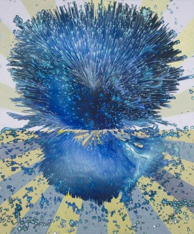 Barbara Takenaga Blue on the Horizon, 2013