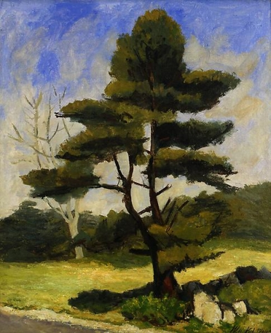 Pine By a Road, 1934
