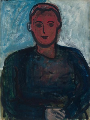 Portrait of a Young Man with Red Face, 1961