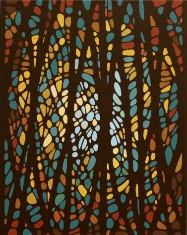 Summer Hours, 2021, Acrylic on canvas