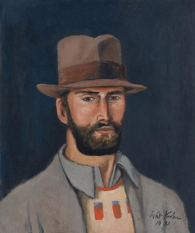 Man with Hat, 1931